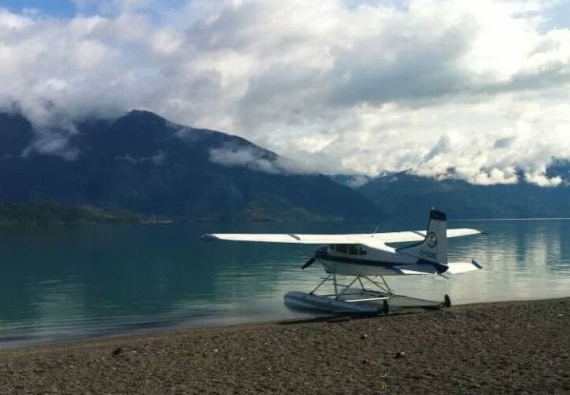 John Lovelace Real Estate Team | Farms and Ranches for Sale in BC | twin-engine and float equipped airplane - about us